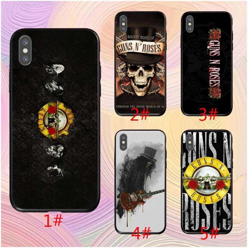 Guns N Roses Retro Slash Wooden For iphone 5c/xr/xs/x/8/se cover case