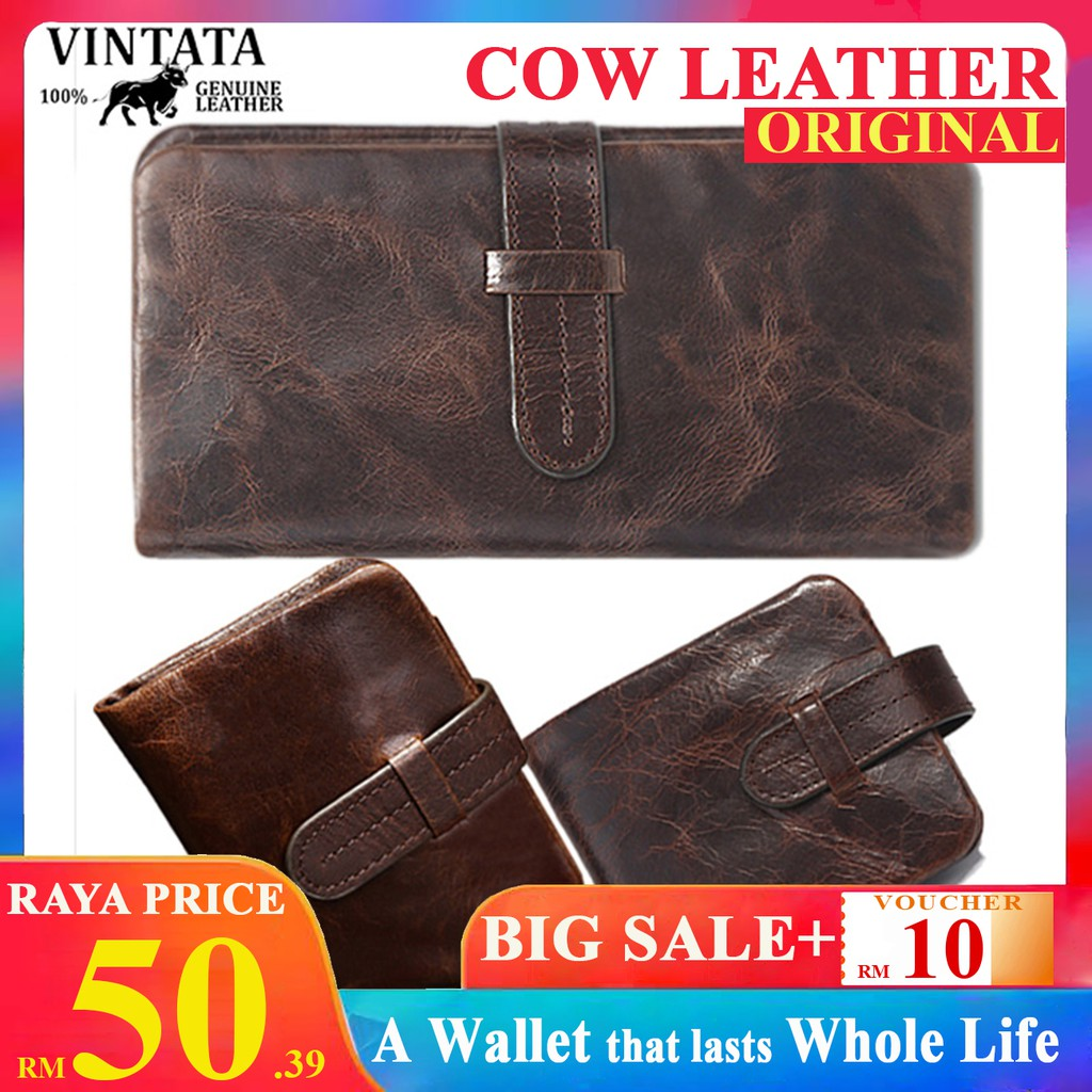 64765e8f185 Camel Active Long Wallet Genuine Cowhide Leather Zip / Dompet Kulit |  Shopee Malaysia