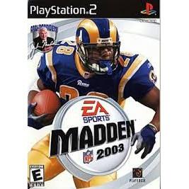 PS2  Madden NFL 2003 / Madden 2005 / Madden 2004 / Madden 2002 / Madden 2001 [Burning Disk]