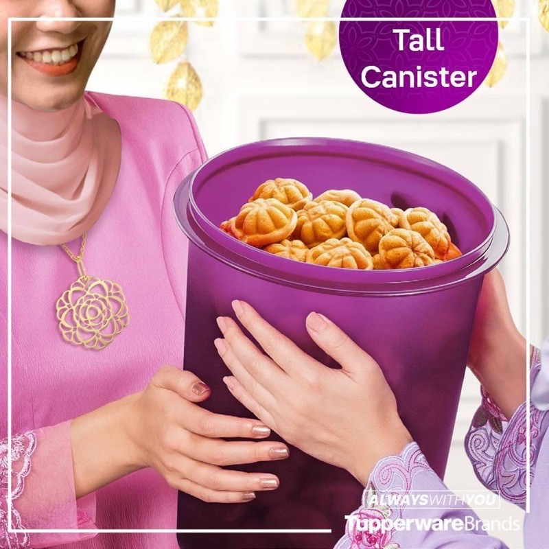 Tupperware Tall Canister 10.0L