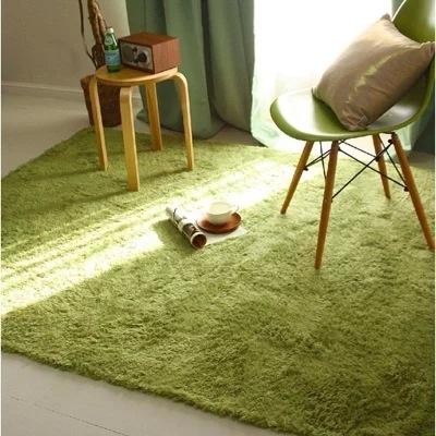 Modern velvet carpet living room rectangular tea table sofa bedside carpet bedroom mattress