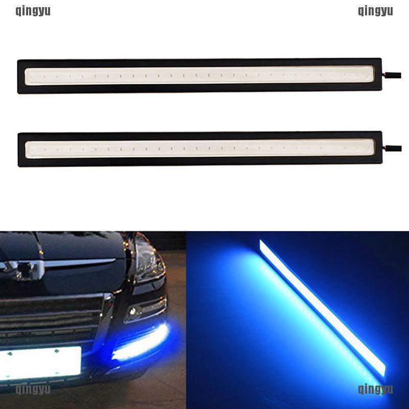 span-new craving Blue Super Bright Car COB LED Lights DRL Fog Driving Lamp Waterproof