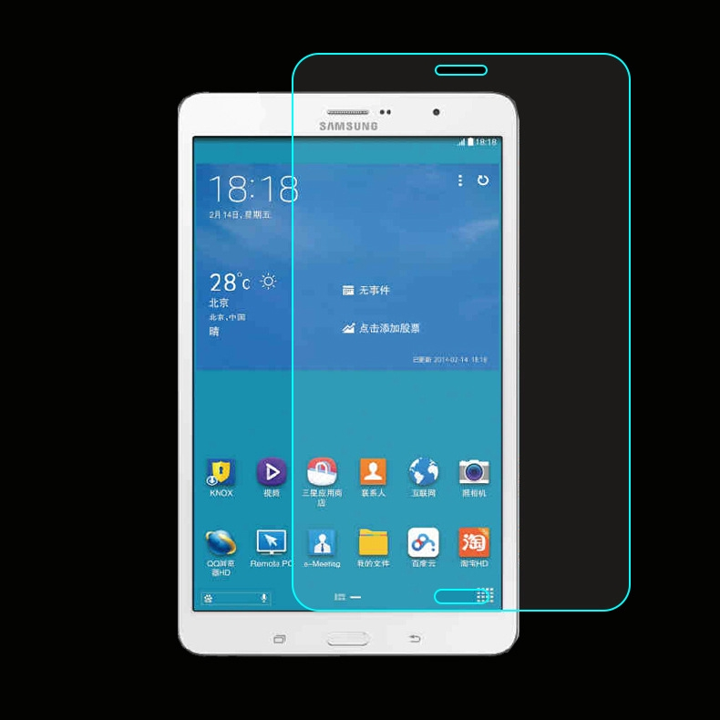 Clear Tempered Glass Screen Protector f Samsung Galaxy Tab E 8.0 SM-T377P Tablet