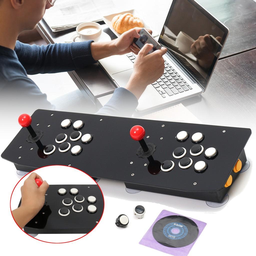 Zero Delay Usb Arcade Encoder Pc To 2pin Joystick Happ Button 48 Sanwa Wiring Diagram 48mm Wires Shopee Malaysia