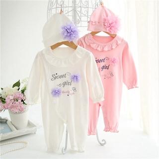 7b01d66bef89 Princess Newborn Baby Long Sleeve Jumpsuit & Hats Girls BodySuits Clothes |  Shopee Malaysia