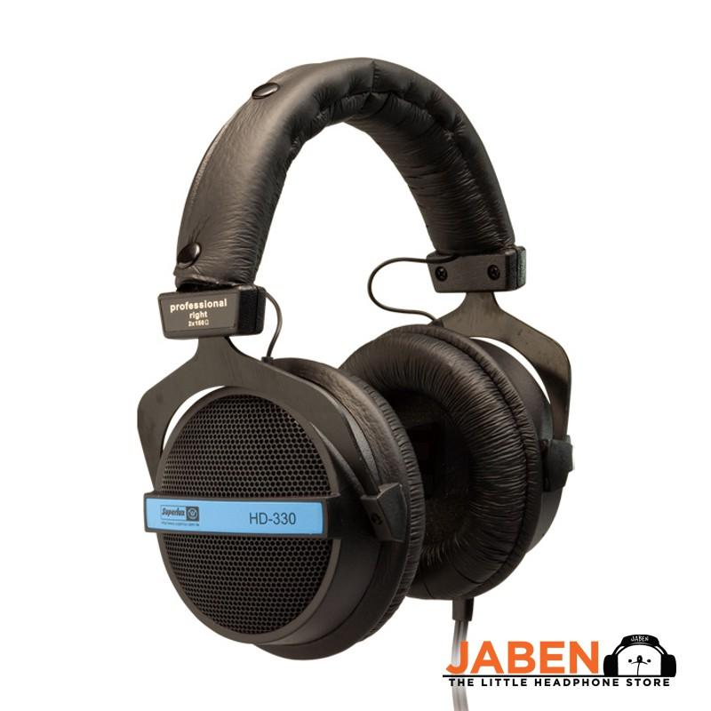 Superlux HD330 Studio Monitor Semi Open Over Ear Headphones [Jaben] HD 330