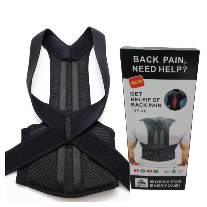 MALAYSIA: PENTOKONG TULANG BELAKANG / ELAK BONGKOK Back Brace Posture Corrector Back Support