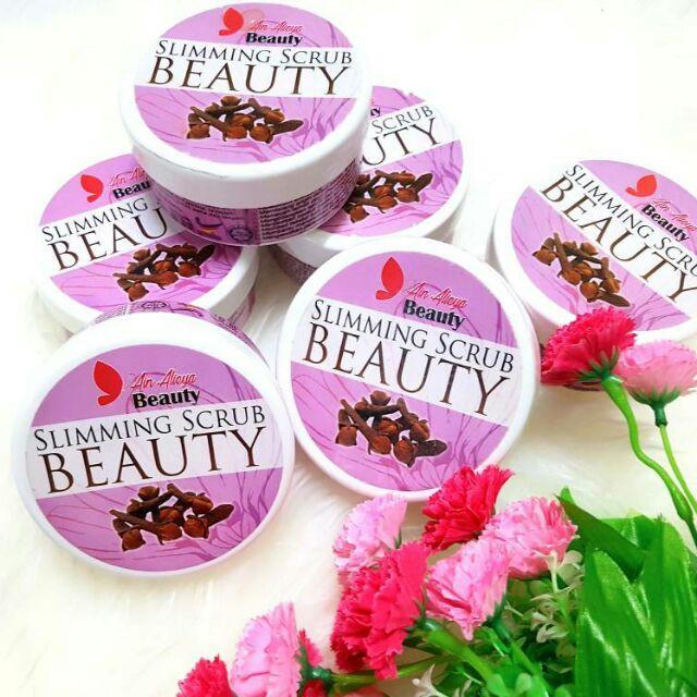 produk slimming scrub beauty)