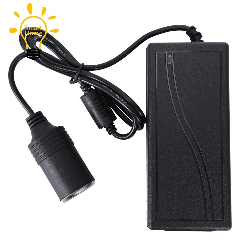 ☆▲☆12v5a car converter power supply cigarette lighter air pump adapter 220v  turn 12v power a