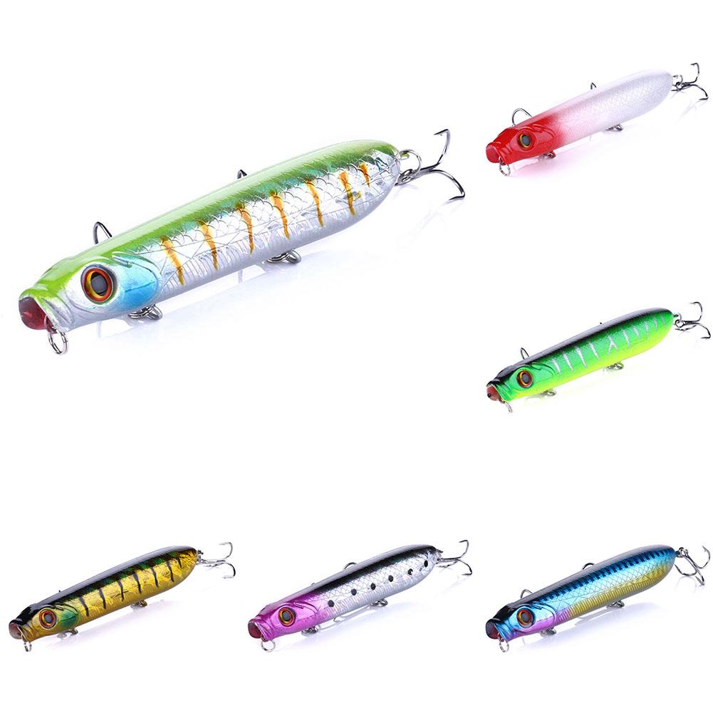 10 5cm 15 7g Grilled Artificial Popper Hard For Sea/river Fishing