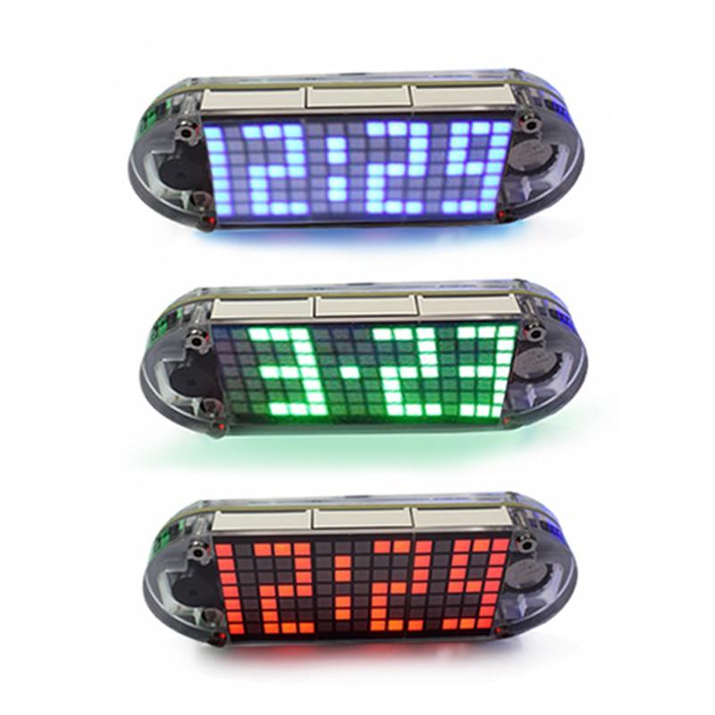 DIY DS3231 Touch Key Precision High-Brightness Digital LED Dot Matrix Display
