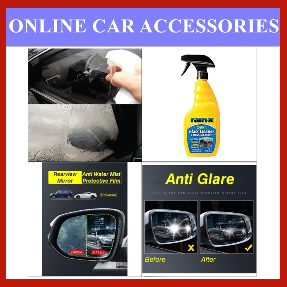 Rain‑X 2-in-1 Glass Cleaner with Rain Repellent - 680ML