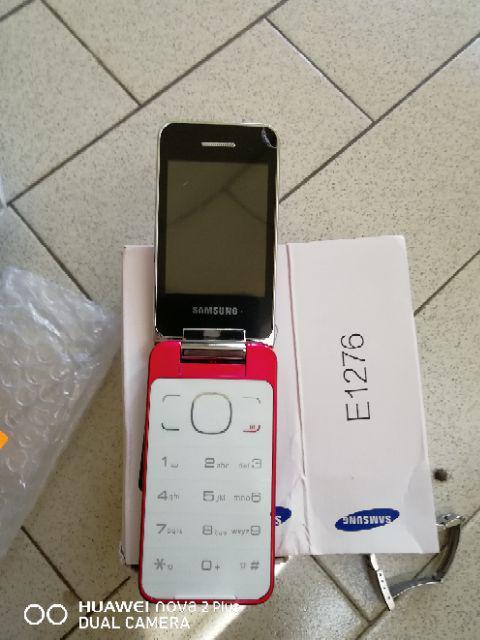 Samsung E1276 Flip Phone Shopee Malaysia
