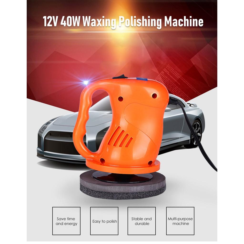 12V Cute Polishing Machine Car Auto Polisher Electric Tool Buffing Machine
