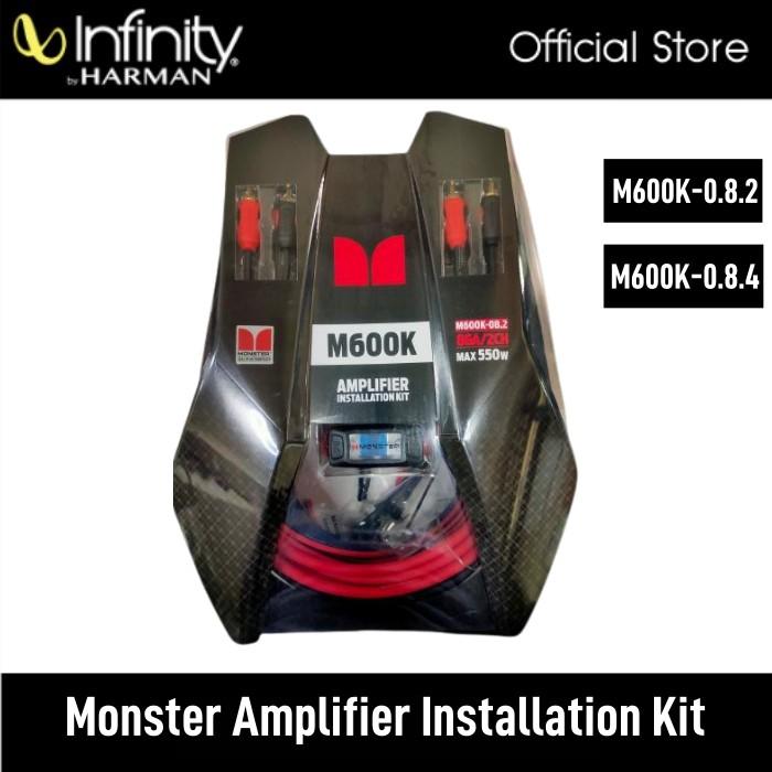Monster Amplifier Installation Kit M600K-08.2 2CH/ M600K-08.4 4CH