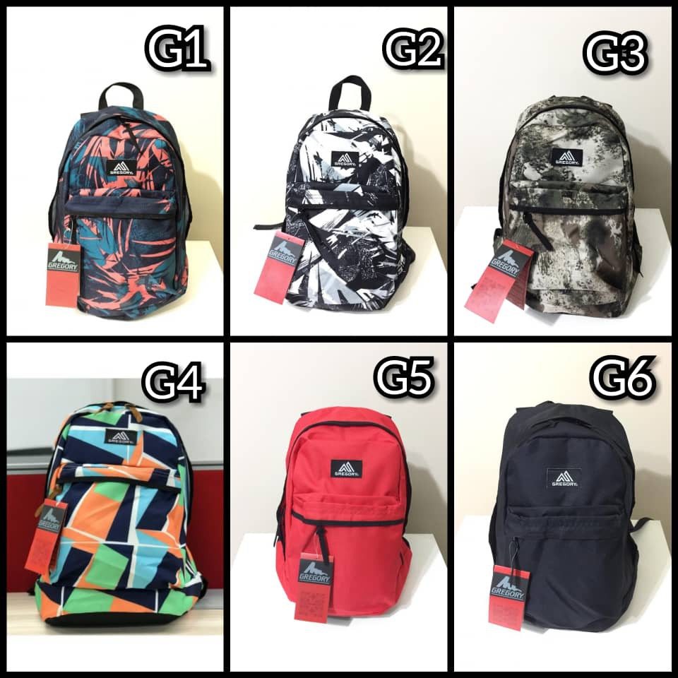 🔥 Ready Stock!! GREGORY Backpack New Design