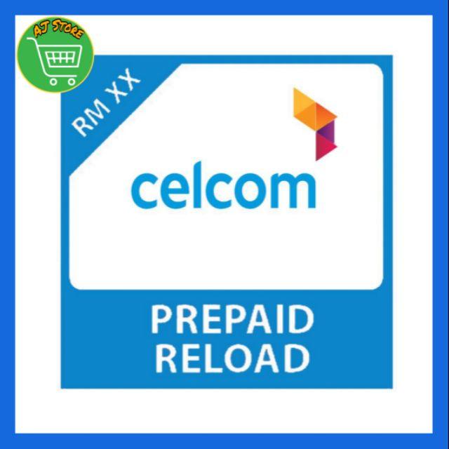 CELCOM RELOAD RM5 RM10 RM15 RM20 RM30