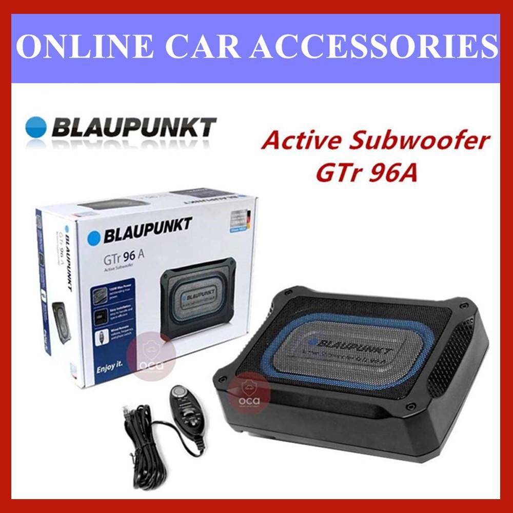 BLAUPUNKT GTR96A 150W Class AB Car Underseat Active Subwoofer with Built In Amplifier