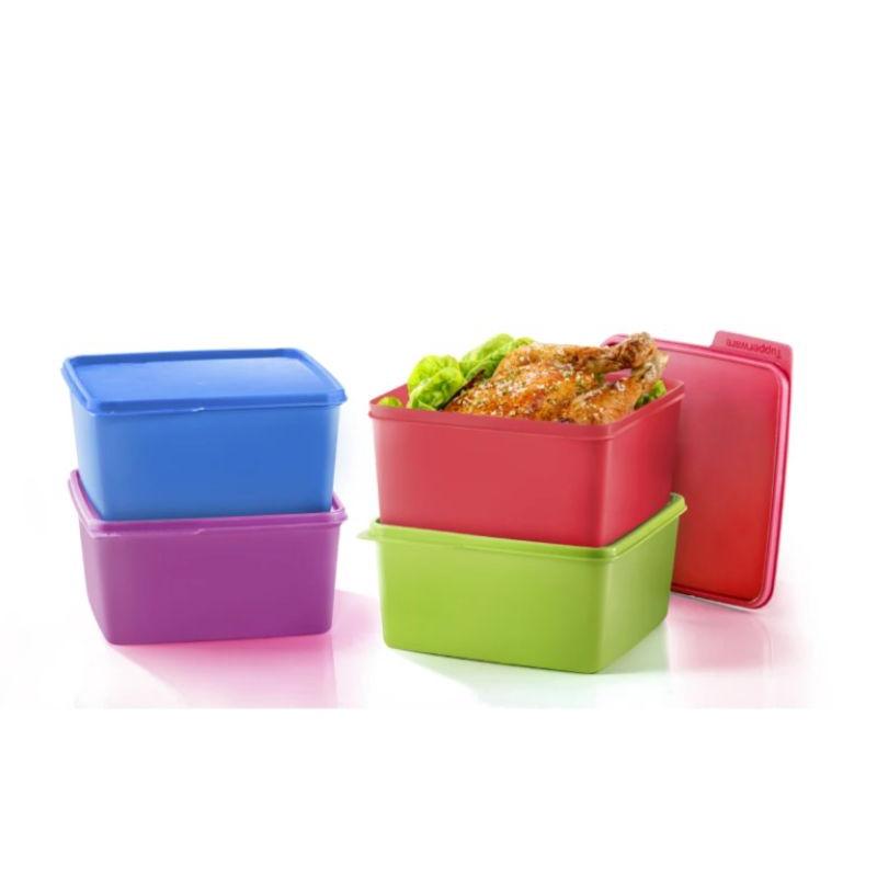 Tupperware Snack & Stack (4) 2.5L