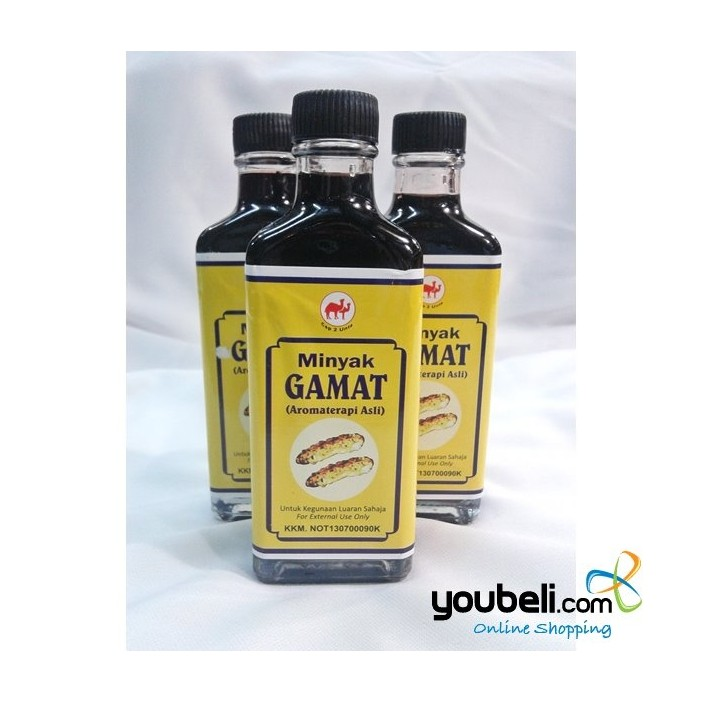 Minyak Gamat Aromaterapi Asli (Cap 2 Unta)