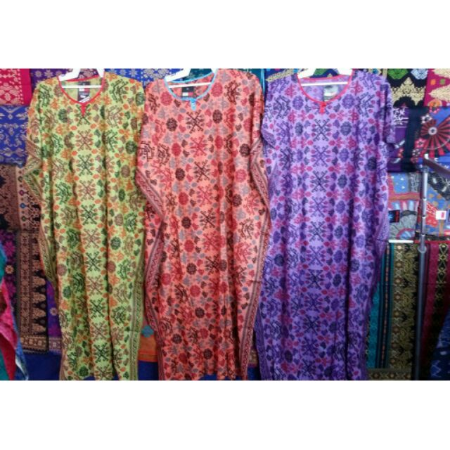 Baju Kelawar Batik Sarawak