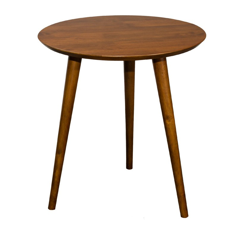 [ FREE SHIPPING ] ZIPPO full solid wood side table/ end table