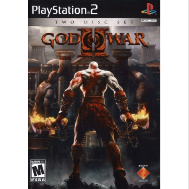 Ps2 Games Cd Collection God Of War