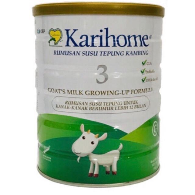 Karihome Goat Milk Step 3 (900g) Exp 10/2021