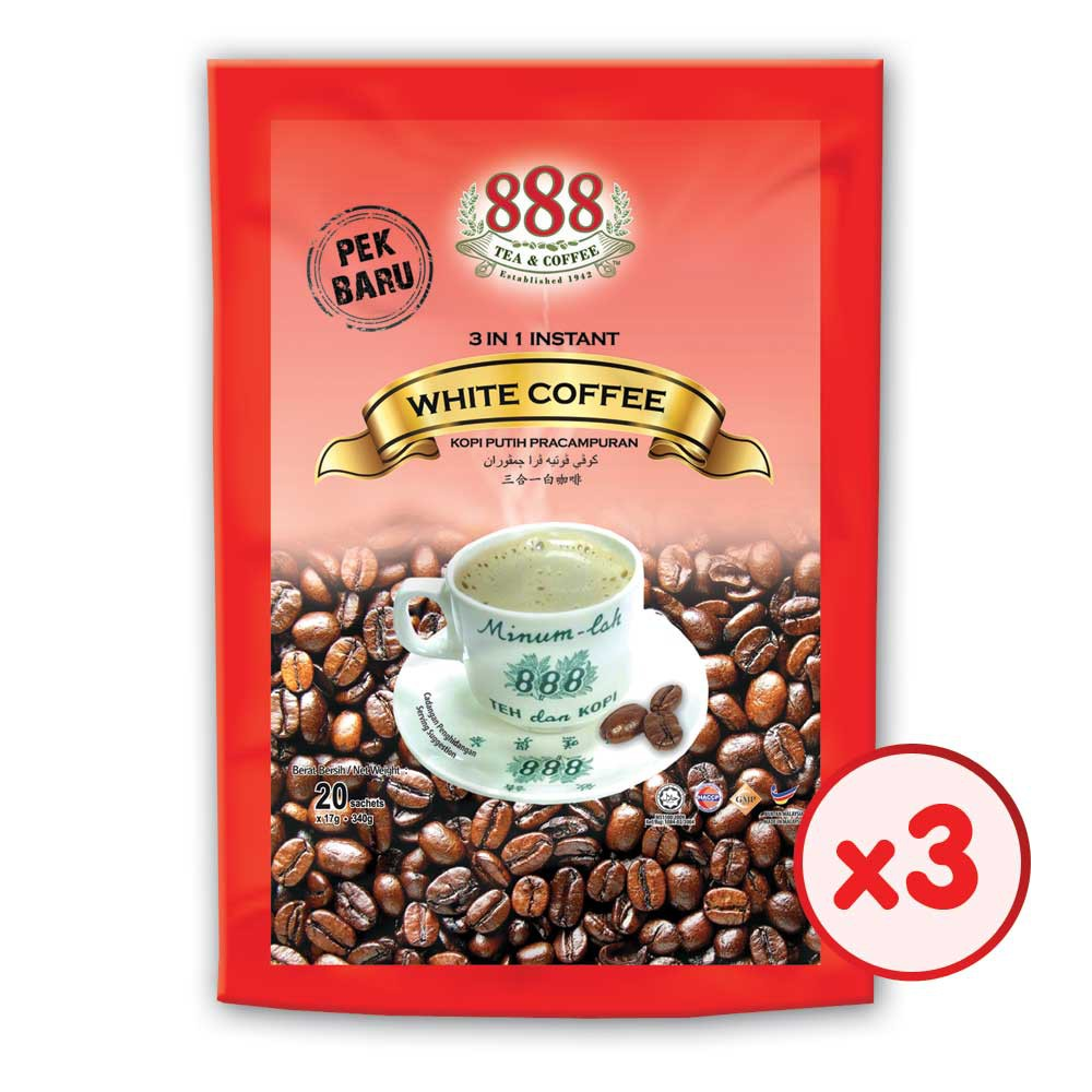 A Canteen Mall ABC White Coffee 3in1 White Coffee Carry Pack Bags | Shopee Malaysia