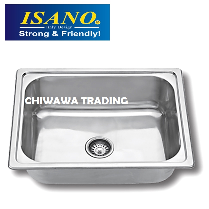 ISANO BS08 Stainless Steel Kitchen Sink Bowl Basin Drainer