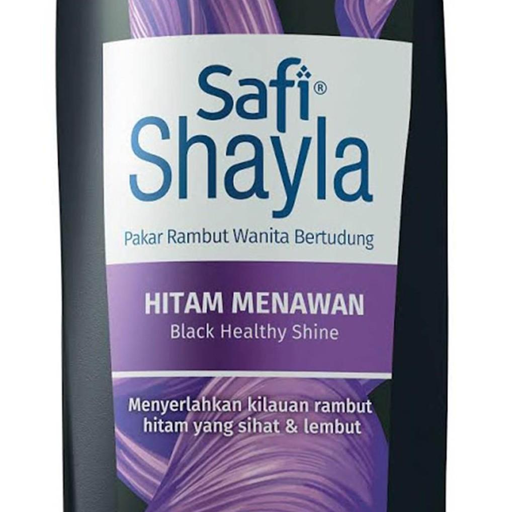Safi Shayla Shampoo Black Healthy Shine (320g)