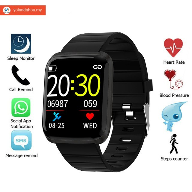 New Smart Watch Men Bluetooth Fitness Bracelet Sports IP67 waterproof  watches Heart Rate Monitor For IOS Android phone