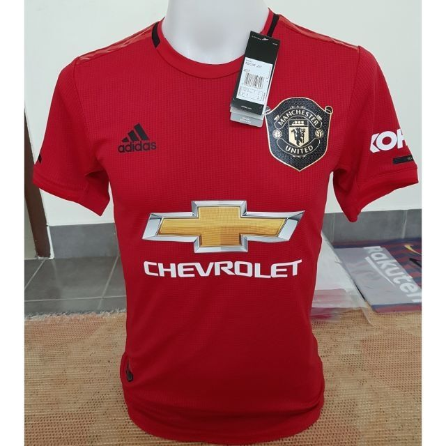 Manchester United Home 2019 20 Player Issue Shopee Malaysia