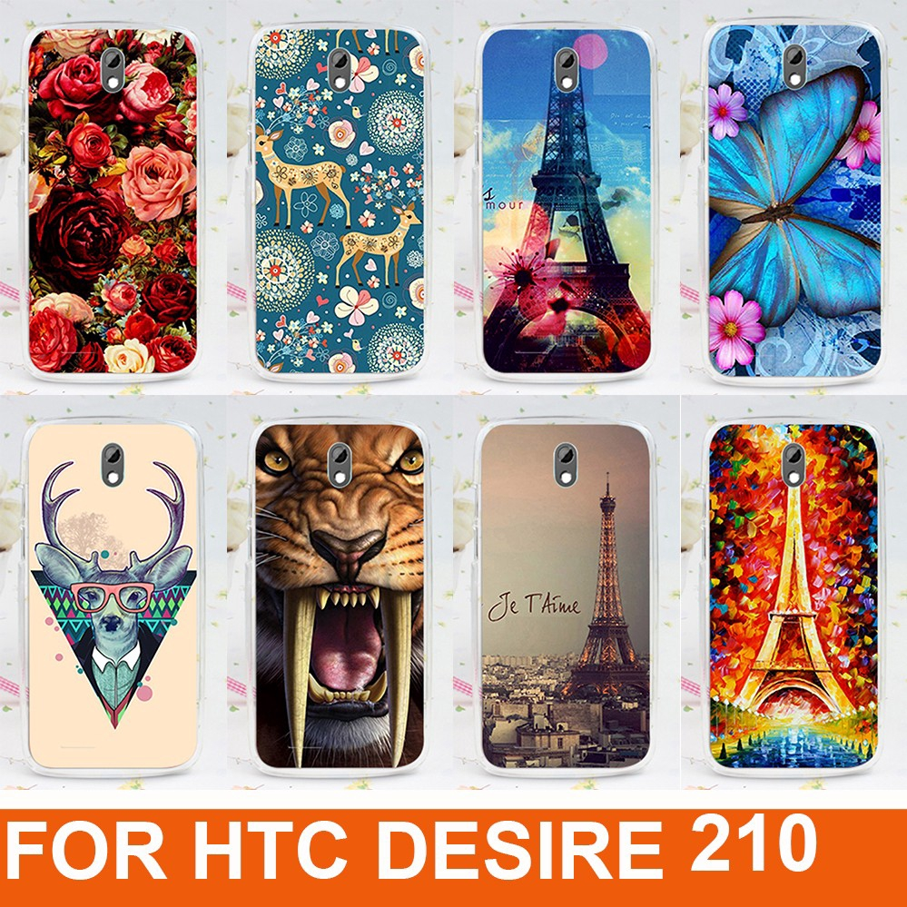 size 40 7e01a 7eae0 High quality protective Phone case for HTC Desire 210 Dual Sim hard Back  cover