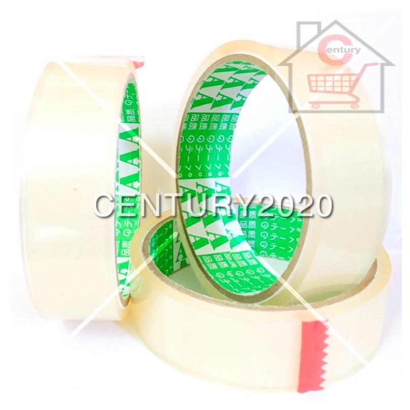 AAA OPP Tape Transparent Adhesive Packaging Tape 24mm 1 PCS
