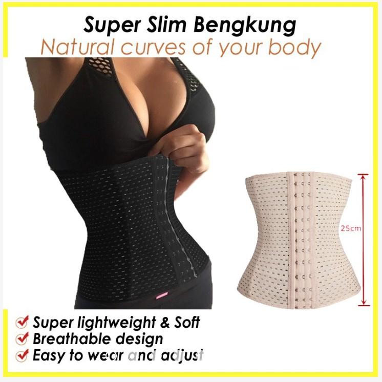 979a7d44cd818 Ready Stock M SIA BORONG! BENGKUNG Korset Tummy Control Waist Belt Corset  111108