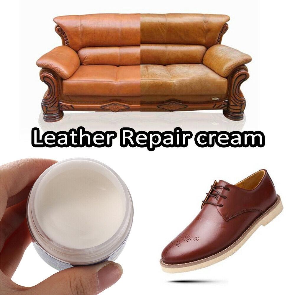 Worn Car Seat Sofa Color Paste Dye Colour Restorer Renew Leather Repair Cream