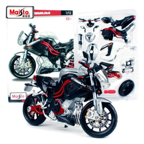 NEW Maisto 1:12 Benelli TNT Titanium Assembly DIY MOTORCYCLE BIKE Model TOYS