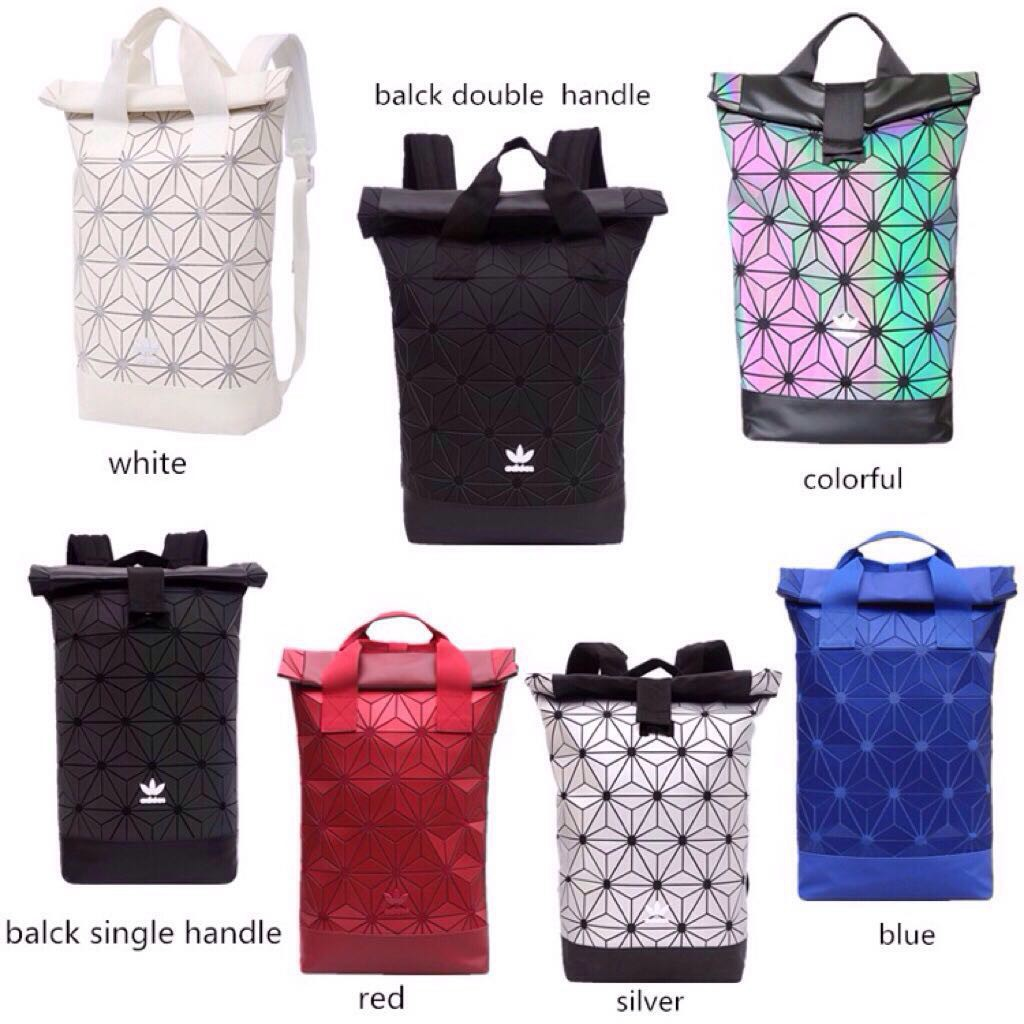 7a6928a769 Adidas Issey Miyake 3D Mesh Bag Bucket Gym Sack For Men Women Backpack For  Her