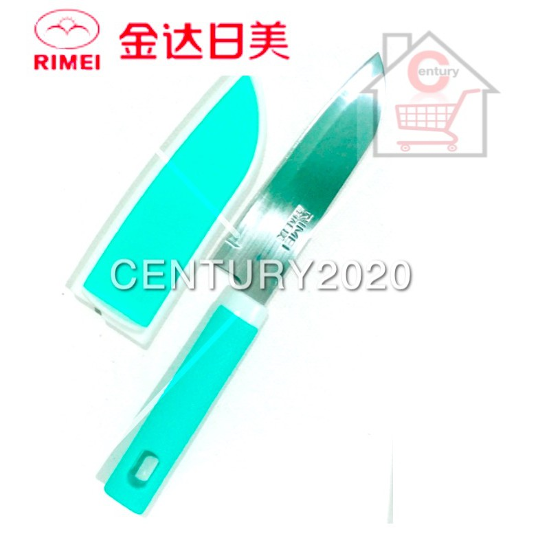 RIMEI Fruit Knife Kitchen Portable Fruit Knife With Cover Kitchen Tools 5168