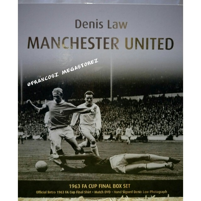8807342b2 Manchester United Denis Law 1963 FA Cup Limited-Edition Box Set ...