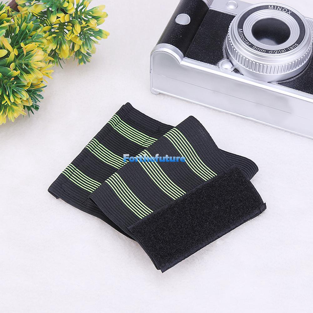 1 Pair Bicycle Bike Reflective Safety Ankle Leg Bind Trousers Pant Band Strap