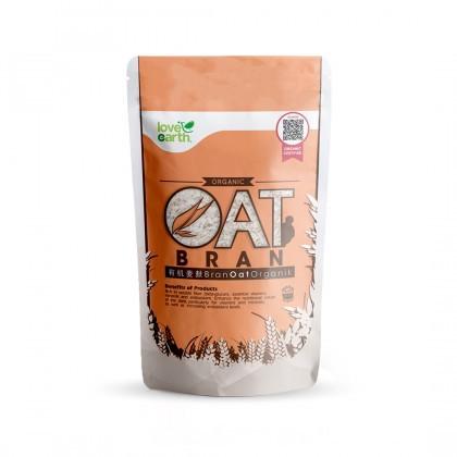 Love Earth Organic Oat Bran 400g 乐儿有机麦麸 400公克 (袋装)