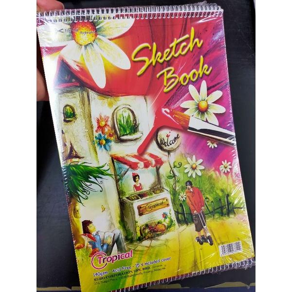 Tropical SP-23711 140gsm Sketch book