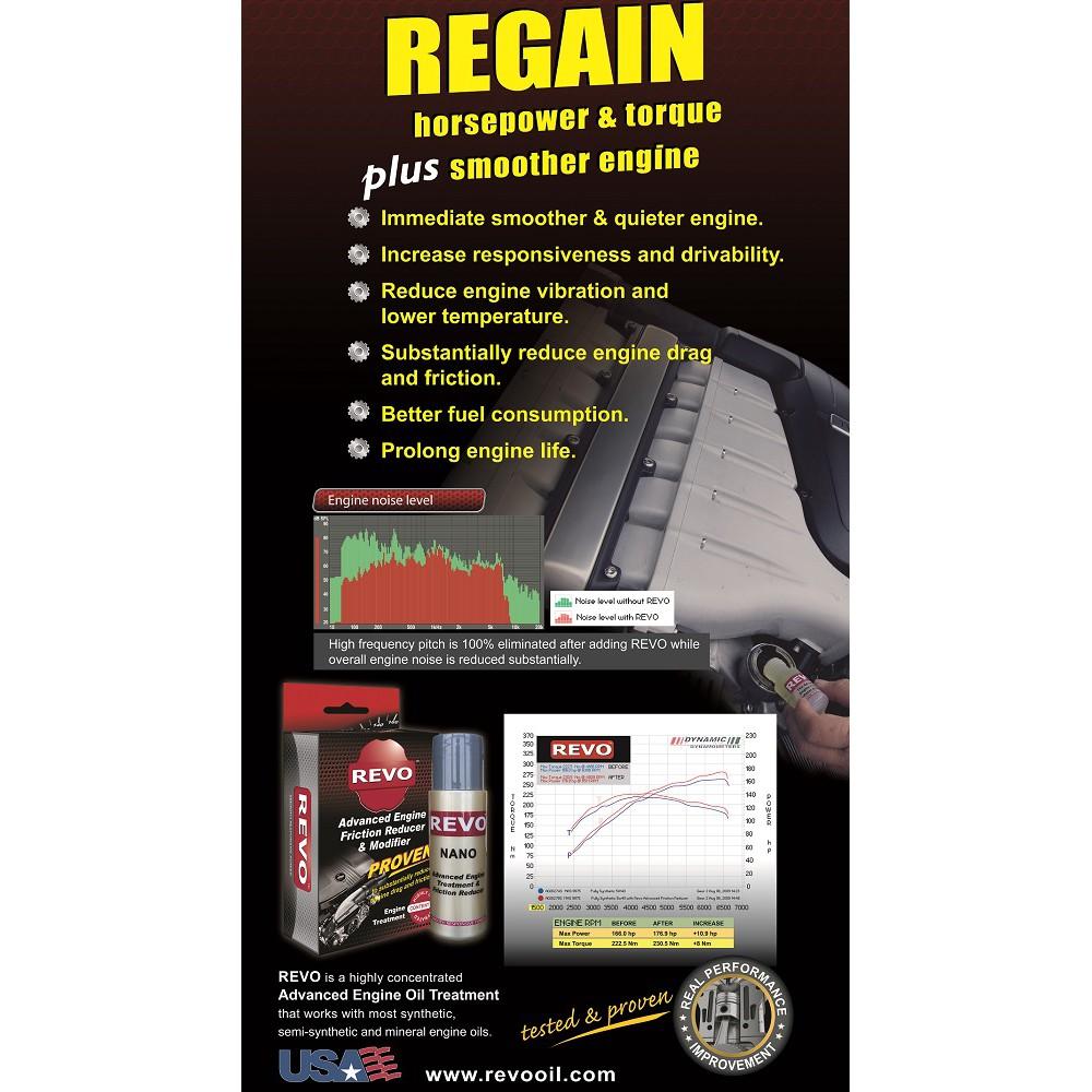 REVO Nano(2 btl) & KM+ Advanced Fuel Additives(400L treatment)[Official  Store]