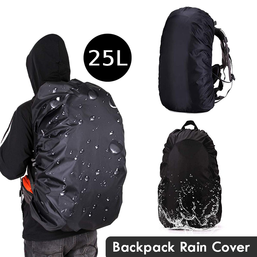 35L Waterproof Backpack Outdoor Dust Rain Cover Camping Hiking Resistant Army