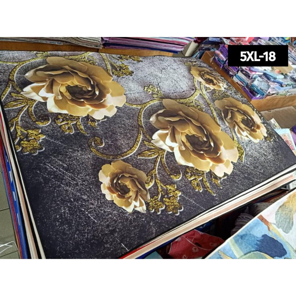 [200x300cm] Carpet Velvet 3D [ Ready Stock ] for Home Deco / Karpet / Rugs / Carpet Murah / Kitchen Carpet / Karpet 3D