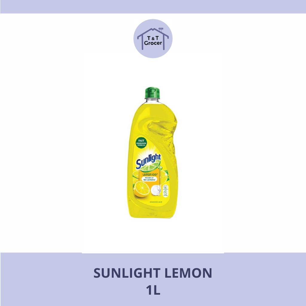 Sunlight Dishwasher 1L (Lemon/ Lime)