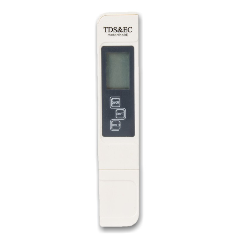 EC & TDS Meter PPM Gauge with Water Temperature For Hydroponic Fertigation System Alat Ukur Ketumpatan Baja AB Dalam Air