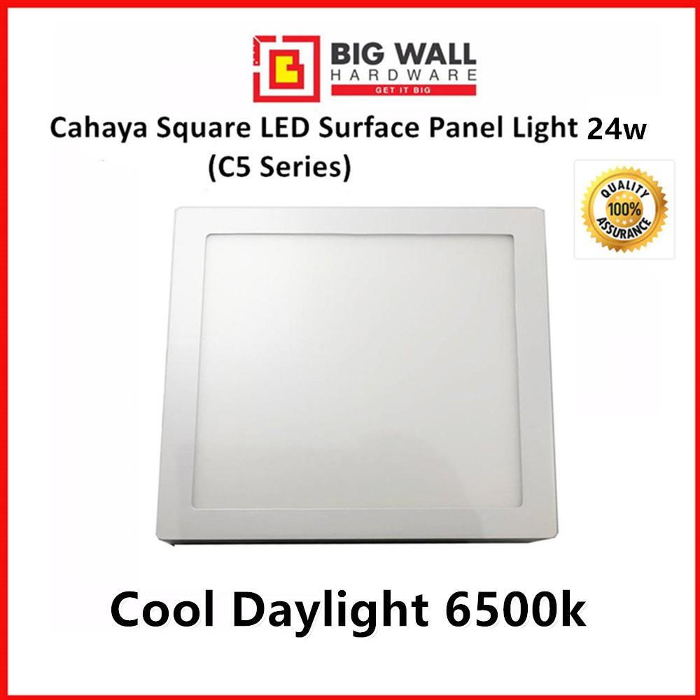 Cahaya C5 LED Energy saving Square Surface Panel Light 24w Size 30cm (Lampu siling) Cool daylight Cool White Warm White
